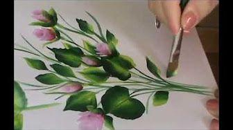Pintar Hojas , painting leaves - YouTube
