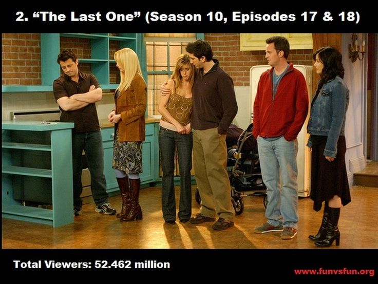 NO 2 - TOP 10 HIGHLY RATED FRIENDS EPISODES - FUN vs FUN