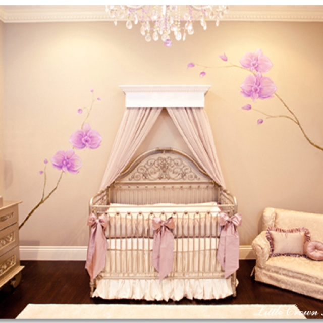Adorable Pink Nursery