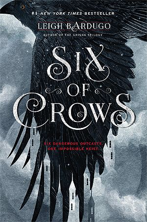 """Six of Crows"", by Leigh Bardugo - Criminal prodigy Kaz Brekker has been offered wealth beyond his wildest dreams. To claim it, he'll have to pull off a seemingly impossible heist: break into the notorious Ice Court (a military stronghold that has never been breached), retrieve a hostage (who could unleash magical havoc on the world), and survive long enough to collect his reward. Kaz needs a crew who are desperate enough to take on this suicide mission and dangerous enough to get the job…"