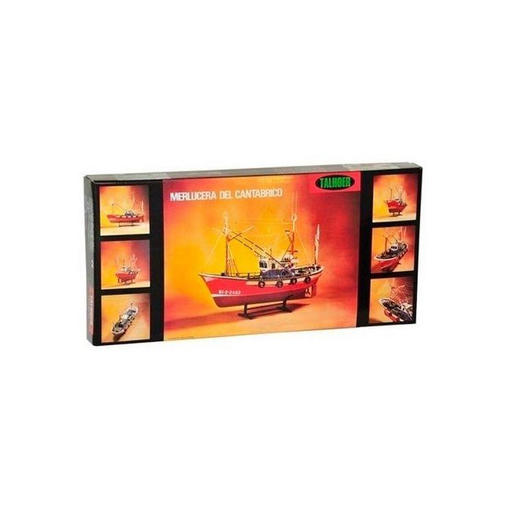 Talhoer 44143. Kit maqueta barco merlucera del Cantábrico - Disarmodel 20143, IndalChess.com Tienda de juguetes online y juegos de jardin