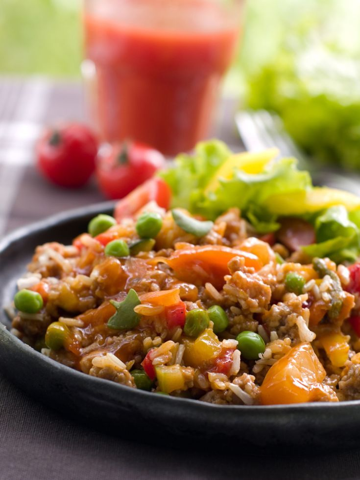 Zeleninová ryža