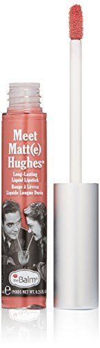 Introducing a matte liquid lipstick that you can depend on - #Meet Matt(e) Hughes. These long-wearing liquid lip colors from the Balm Cosmetics apply smoothly an...