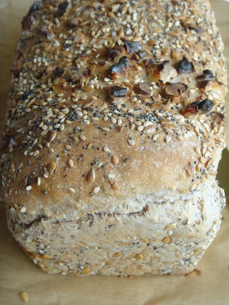 pão de cereais e sementes