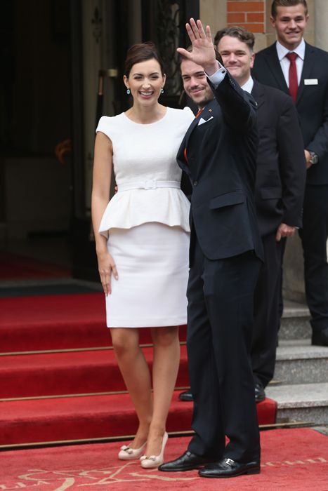 Luxembourg royal wedding: Prince Felix weds Claire Lademacher - Photo 1 | Celebrity news in hellomagazine.com