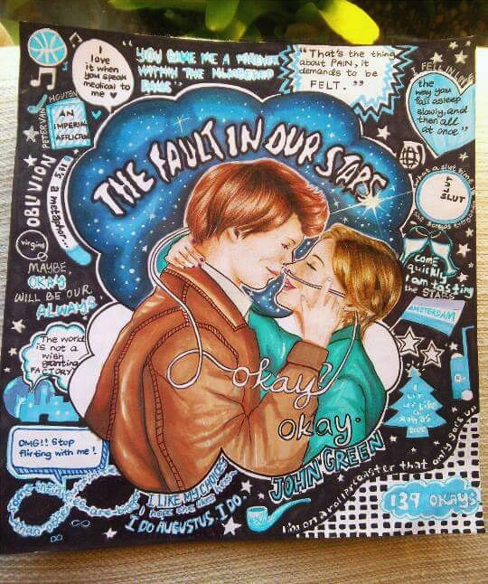 The fault in our stars, inspired by kristina webb's design and she is freaking talented ♡ #tfios #drawing