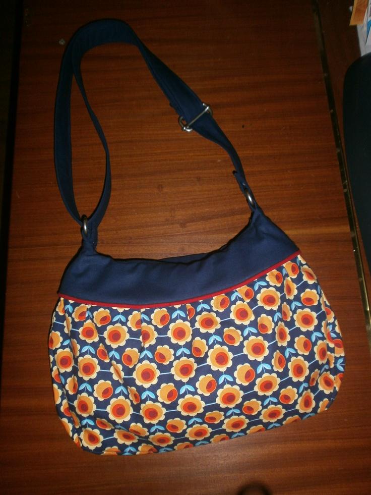 home made bag, hamburger liebe fabric