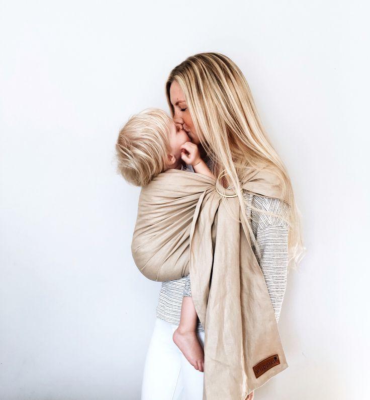 Wildbird linen ring sling baby carrier