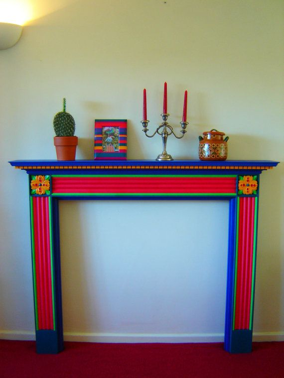 Mexican Inspired Fireplace | MEXICANA | Pinterest ...
