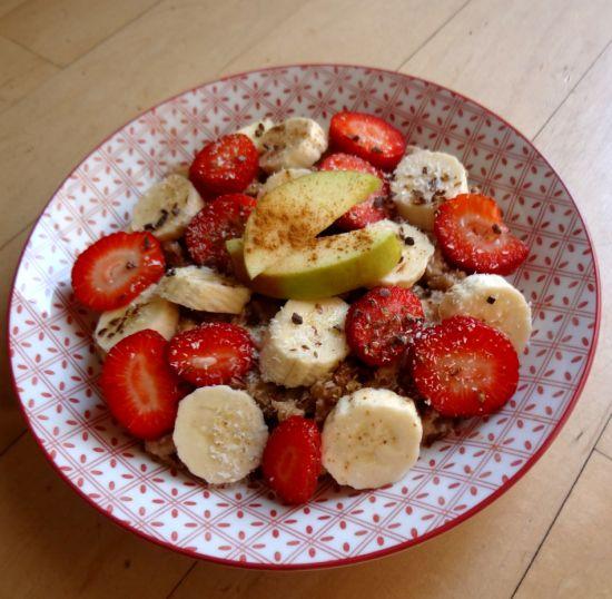 Havermout met vers fruit