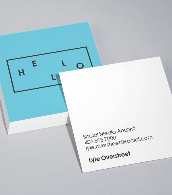 Best 25+ Square business cards ideas on Pinterest