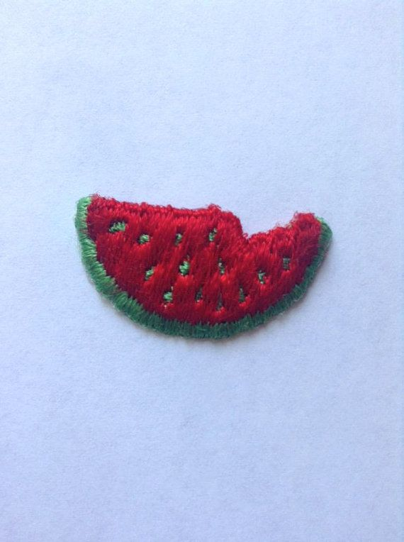 Cute Watermelon Patch by JandKaccessory on Etsy