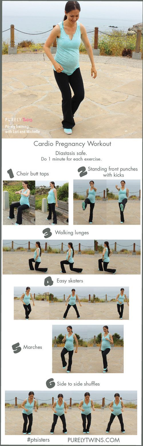 Alright my fit moms ready to do some cardio with me? Looking for ideas for cardio during pregnancy? Try this bodyweight prenatal cardio focused routine that you can do during any trimester. This workout routine is safe for moms that have diastasis to continue to protect your core. Cardio pregnancy workout you can do anywhere anytime.