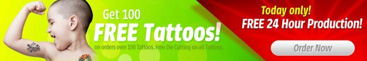 24 hour wristbands -Custom Temporary Tattoos