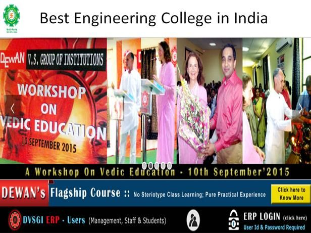 DVSIET is one of the best Engineering colleges in India that offers excellent educational program in all major branches of engineering. See more at: http://dewaninstitutes.net/dewan-vs-institute-of-engineering-technology-dvsiet/