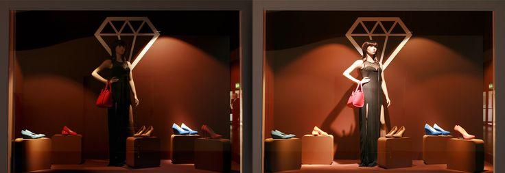 Dynamic shop windows | Smart Lighting Engineering