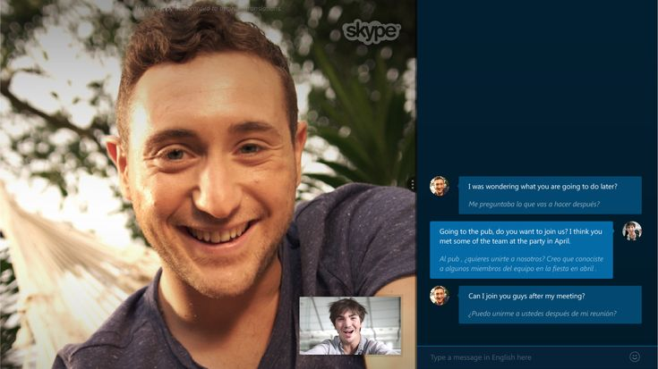 The Craziest Sci-Fi Fantasies That Got Closer to Reality This Year | Since 2003, Skype has made it possible to video chat with anyone on the planet--granted you spoke the same language. However, this year the company released a real-time translation tool that is so good it invites comparisons to the amazing Universal Translator used by Star Trek: Enterprise's Ensign Sato.   Skype  | WIRED.com