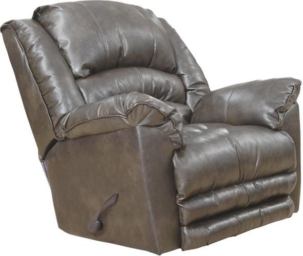 Catnapper Filmore Recliner Sales Grey #Leather #ReclinerSales