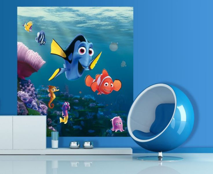 Finding Nemo Kids Disney Wall Mural By WallandMore. Finding Nemo Collection. Part 13