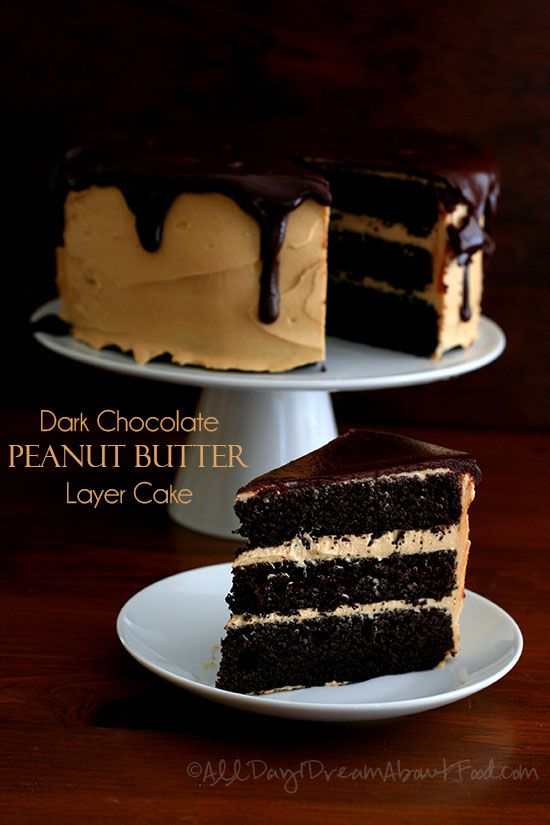 Low Carb Chocolate Peanut Butter Layer Cake - definitely a special occasion cake but worth the effort.