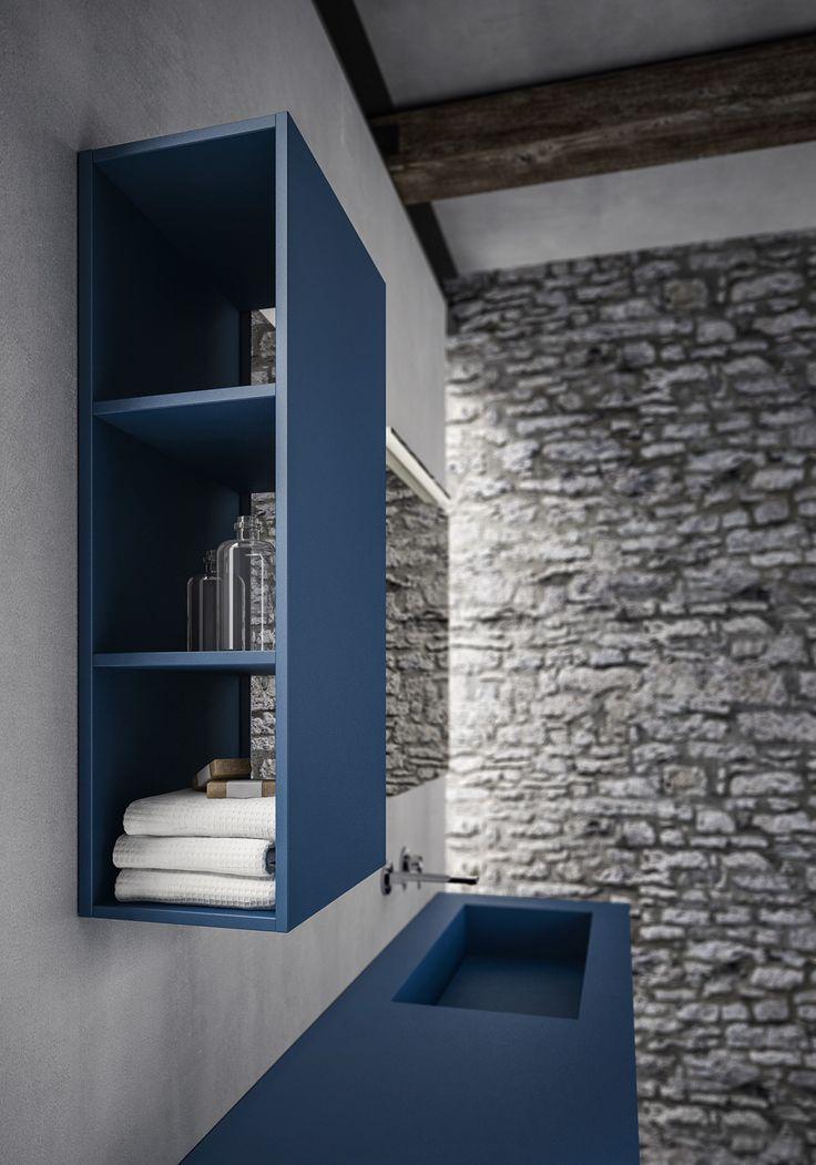 Oltre 25 fantastiche idee su arredo bagno blu su pinterest - Mobili bagno blu ...