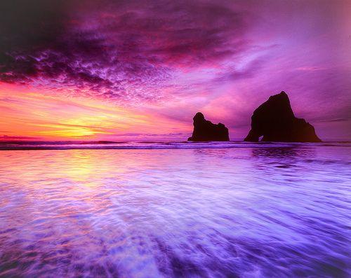 My favorite place in the world - Wharariki Beach, New Zealand