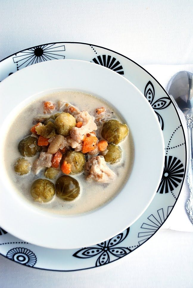 Trufla: Brukselka. Kalafior. Zupa zimowa.