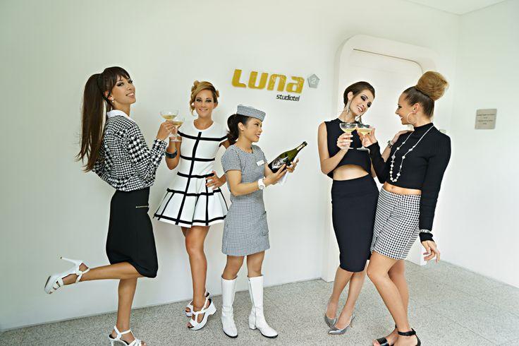Live the Luna2 life!  Styling by Melanie Hall. #luna2 #retro #melaniehalldesign