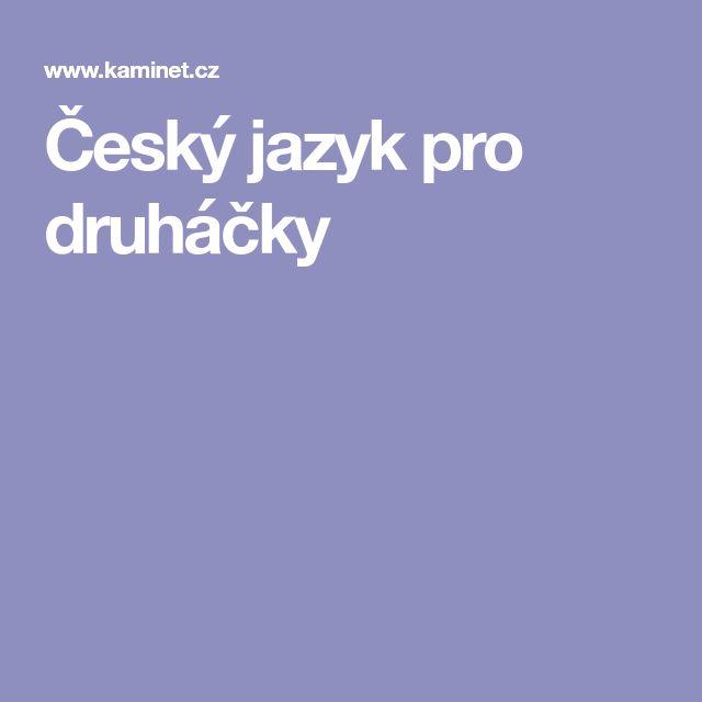 Český jazyk pro druháčky