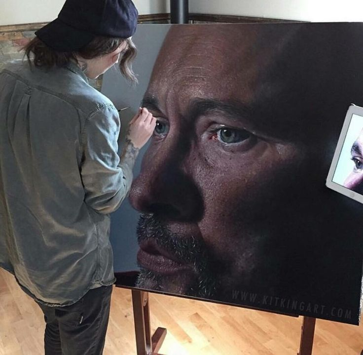 Best Amazing Paintings Images On Pinterest Amazing Paintings - Hyper realistic paintings nunez