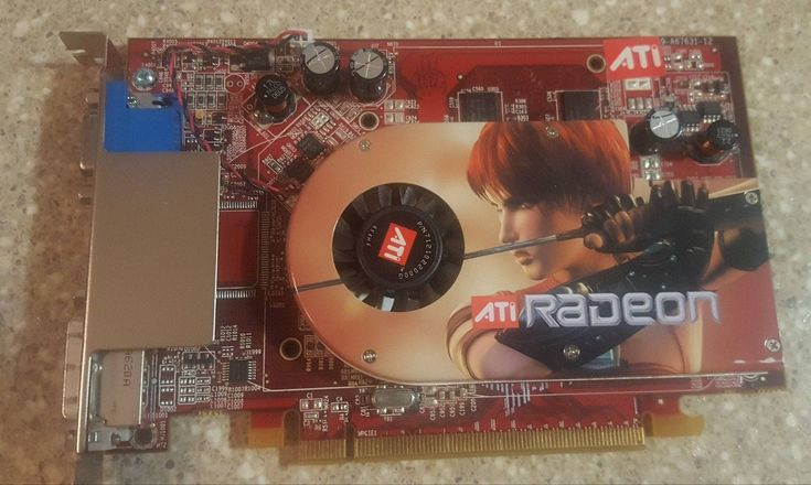 ATI Radeon X1300 Pro 109-a67631-12 Pci-e 256mb Video Graphics Card 102A6761812 by iKnowRepairs on Etsy