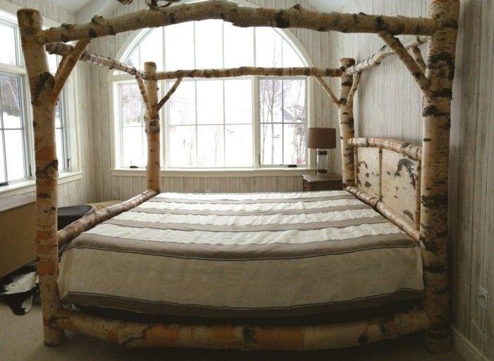 die besten 25 himmelbett selber machen ideen auf pinterest baldachin rahmen bettgestelle und. Black Bedroom Furniture Sets. Home Design Ideas
