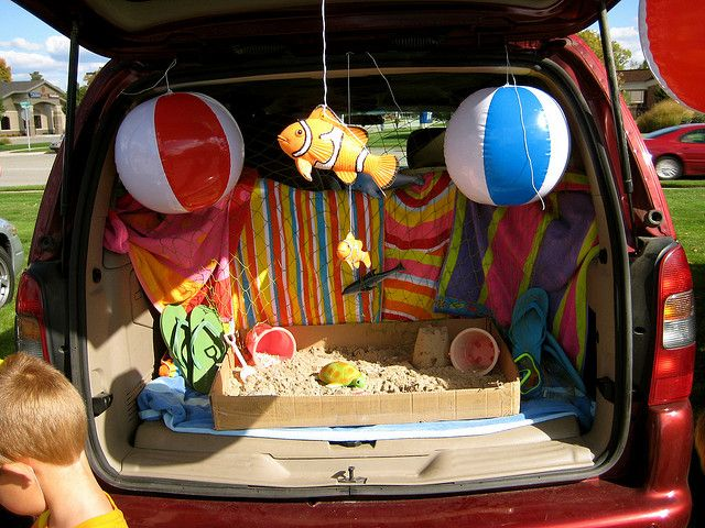 Trunk or Treat by rkramer62, via FlickrMaybe we'll have a beach theme for trunk or treat this year.