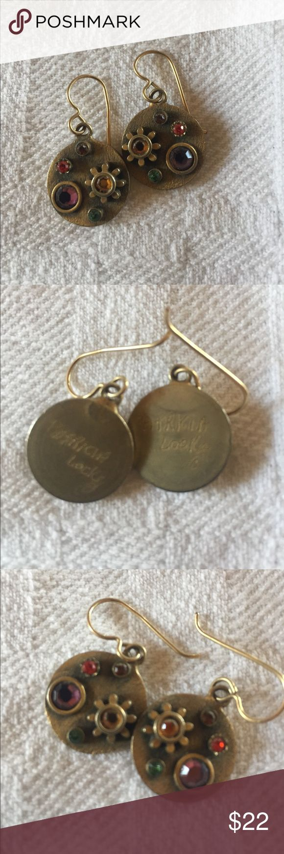 Patricia Locke earrings💛💜❤️ Beautiful earrings, perfect condition, lovely color. Patricia Locke Jewelry Earrings