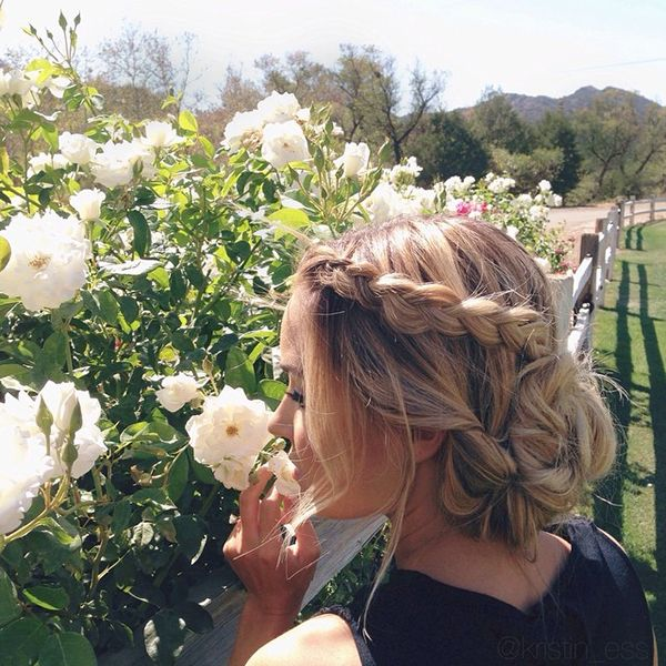 Brides-to-be: Steal Lauren Conrad's perfect wedding-worthy bridal updo! - Wedding Party