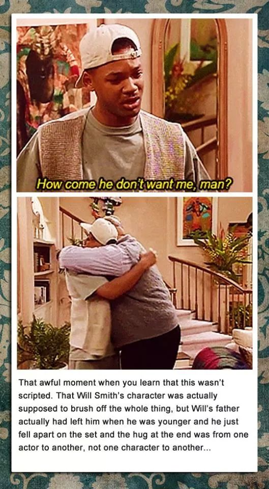 Fresh prince of Bel Air. I cry at this episode every time