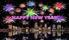 Happy New Year fireworks animated gif happy new year 2015 happy new year quote happy new year greeting