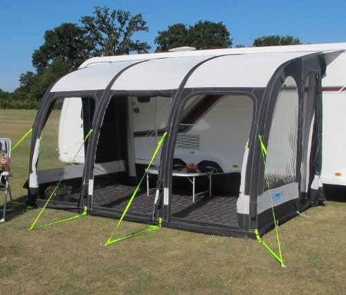 Large Size Inflatable Porch Awning For Caravans Made From Top Quality Polyester Synthetic Material X As Thick Most Family Tents And Just One Inflation