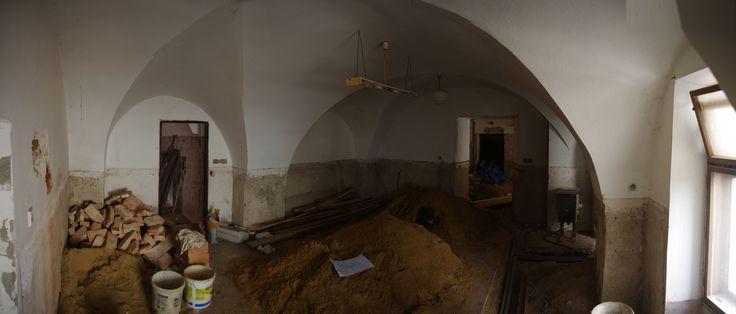 Rekonstrukce vinného baru a bistra Thir v Táboře.  (místnost a barem). #thirwinebar http://thir.cz/