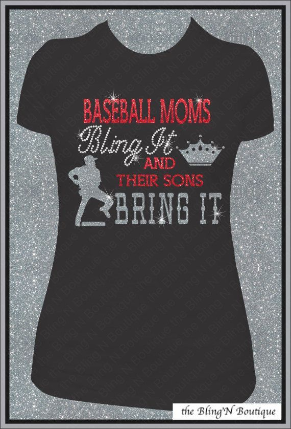"""Perfect for my blingy, glam, """"all-Texas"""" fellow moms!  Cute"""