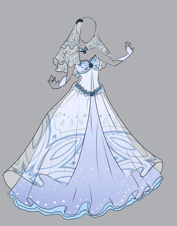 #manga #Wedding #Wedding-Dressses .::Outfit Adopt 4(CLOSED)::. by ...