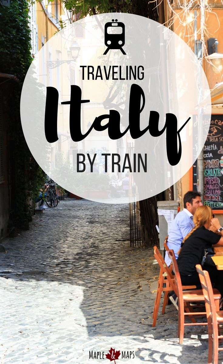 Everything you need to know before traveling Italy by train