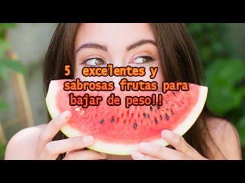 5 frutas para bajar de peso http://www.yoestoyenforma.com
