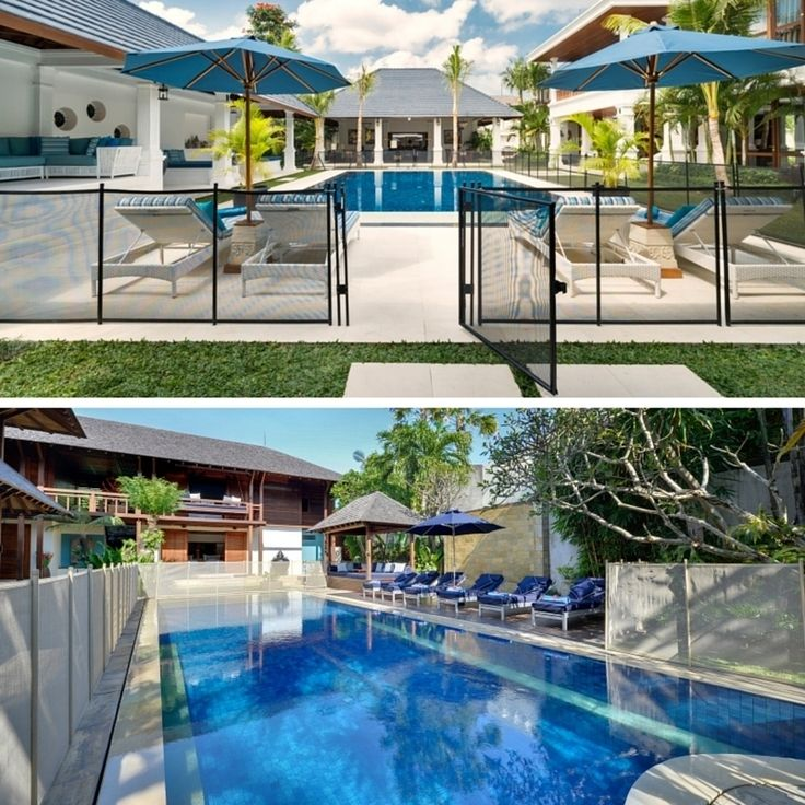 Need a pool fence? No problem! At #WinduVillas we've got it covered.