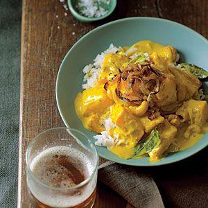 Cashew, Coconut, and Pumpkin Curry Recipe