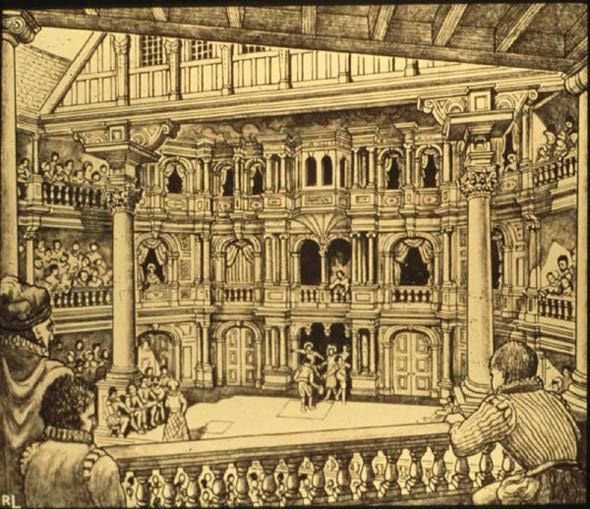 elizabethan theatre style William shakespeare was born in shakespeare's style was conventional of the time period when he elizabethan actor theatre where actors/playwrights.
