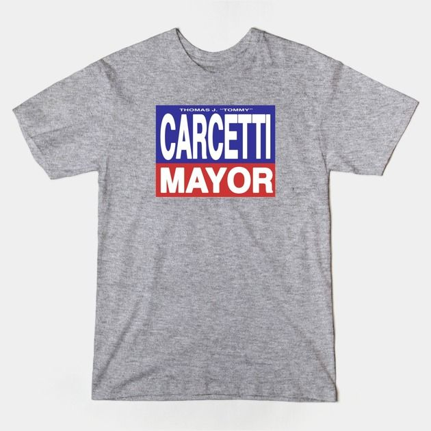 """The Wire -   """"Another Bowl""""  Tommy Carcetti for Mayor. Election campaign tee shirts from The Wire. In store now.   #The, #Wire, #tee, #shirt, #carcetti, #mayor, #election, #politics, #tommy, #television,"""