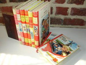 Enfantina LOT DE Livres '' Bibliothèque Rouge ET OR '' Années 60 | eBay