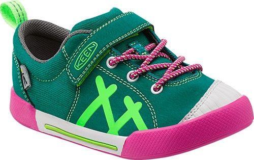 Keen: Kids Encanto Sneaker Toddler/Little Kid (Green/Pink)