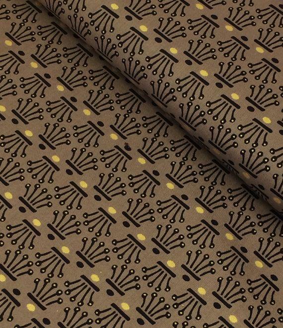 Crown Black gold tela de algodón patchwork quilting coronas oro decoración cojines tela para vestidos elegante geo
